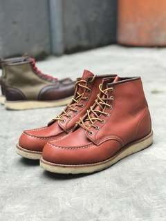 Sepatu boot redwing made usa