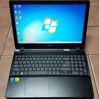 🚚 宏碁 EX2510-54PL 15.6吋 4代 i5 筆電、全新電池+8G記憶體+640G硬碟+獨立GT820/1GB顯卡
