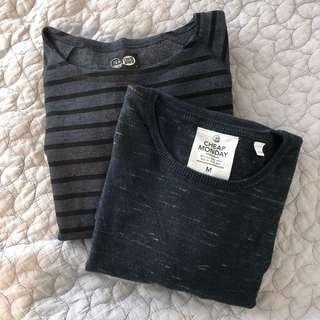 Cheap monday long sleeve tops (x2)