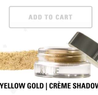 AUTHENTIC Kylie Creme Eyeshadow Yellow Gold Holiday Edition