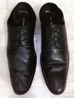 Sepatu Kulit pantofel Hush Puppies size 45