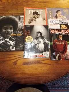 Michael Jackson collection 6pcs