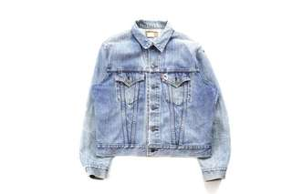Vintage Distressed Levi's Denim Jacket