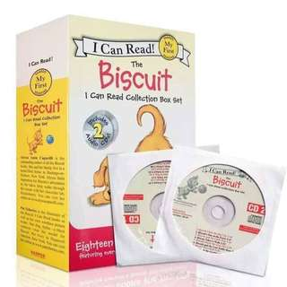 I CAN READ BISCUITS (18books 2CD)