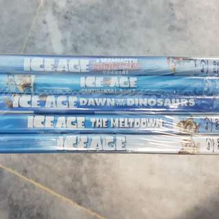Ice Age 1-4 Collection + Ice Age Christmas