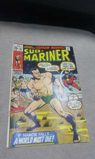 Silver Age Marvel Comics Submariner Prince Namor
