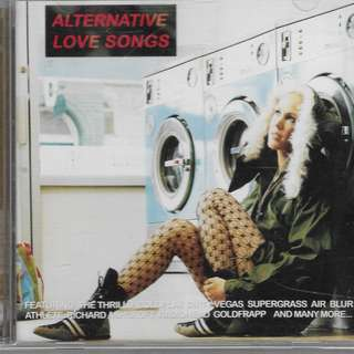 MY CD - ALTERNATIVE LOVE SONGS = (2 cds) //FREE DELVERY.(BOX C)
