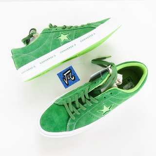 Converse One Star Pinstripe Green