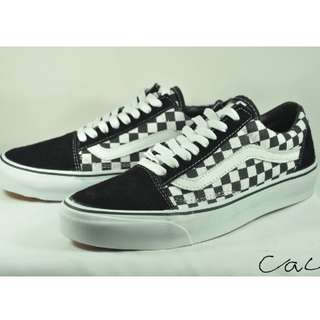 Vans Old Skool Checkerboard Anaheim BW Premium 1:1