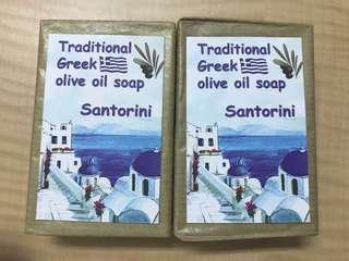 橄欖手工香皂1個50/希臘帶回(70g)