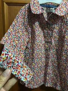 Baby girl long sleeve blouse