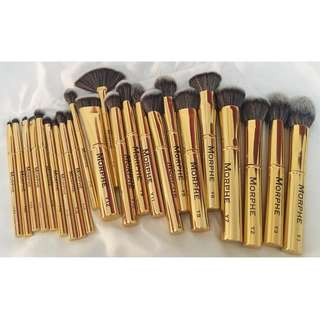 100% authentic morphe 901 gilded set