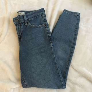 Topshop high rise Jamie petite jeans