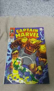 Silver Age Marvel Comics Captain Marvel #6