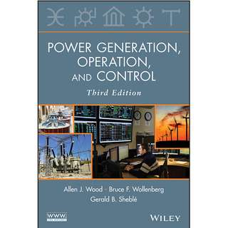 Power Generation Operation and Control 3rd Edition