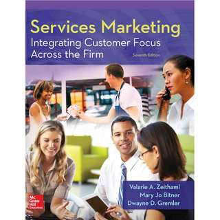 Services Marketing Integrating Customer Focus Across the Firm 7th Edition