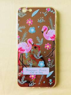 Mirror flamingo iphone 6/6s case