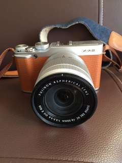 Fujifilm XA-2 with kit lens