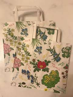 Floral Paper Bag (small)