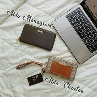 ALDO Monogram and Choctaw Wallet