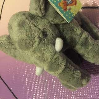 🚚 絨毛玩具安撫大象 療癒 大象 寶寶玩具#一百元好物