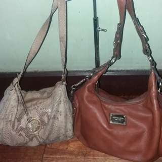 💯Bundle Authentic Michael kors mk leather bags