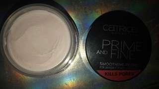 Prime & fine catrice kills pores #mausupreme