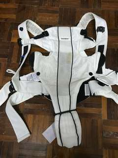Baby bjorn white carrier