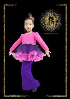 Tutu Kurung For Kids