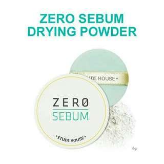 🌸 ETUDE Zero Sebum Drying Powder