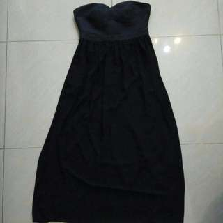 Doublewoot Black Tube Dress