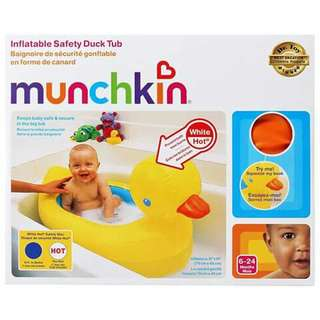 Munchkin Inflatable Baby Bath Tub - DUCK