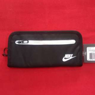 Nike heritage long wallet black
