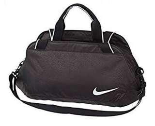 BNEW ORIG Nike Women's Ladies Black Gym Sports Duffel Bag