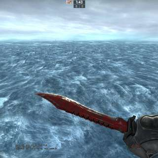 [CSGO] Bowie Knife Crimson Web [BS]