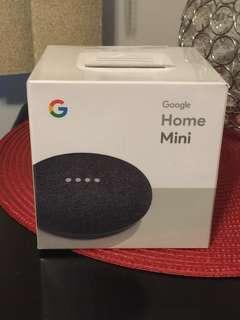 Google home mini brand new original packaging