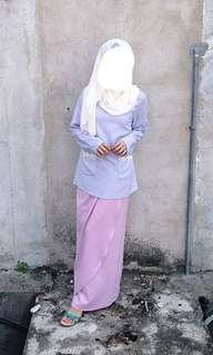 Ethnic Chic baju kurung moden set