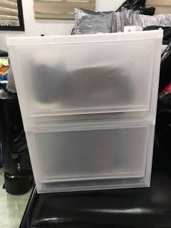 REPRICED!! Plastic Container/ drawer/ organizer