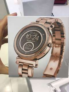 New Michael Kors smart watche