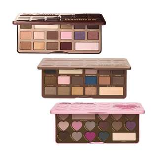 SALE Too Faced Chocolate Bon Bons / Bar Eyeshadow Palette