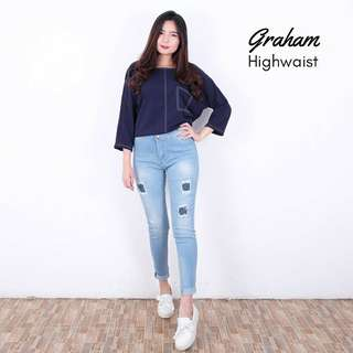 GRAHAM HIGHWAIST [READY LANGSUNG ORDER]