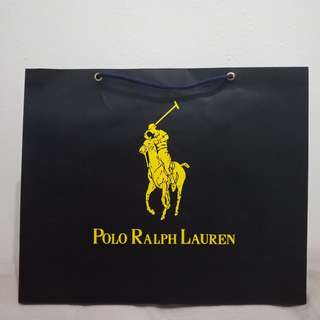 Paperbag Polo ralph laurent