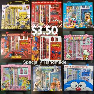 😍 Children Stationery Set / Gift Set / Birthday Gift / Party Gift / Children Day Gift / Goody bag / Goodie bag