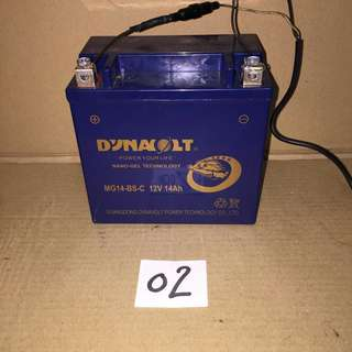 Battery | dated 17-01-2017 | honda.shadow.VT400