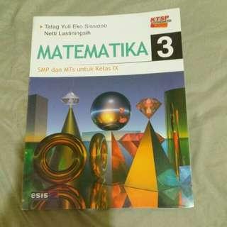 Buku pelajaran matematika baru