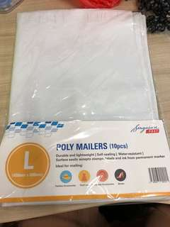 8pcs pack of L sized mail bag
