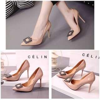 High Heels Glossy SHH1812 Plat