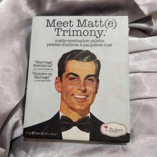 The Balm Meet Matte Trimony Matte Eyeshadow Palette