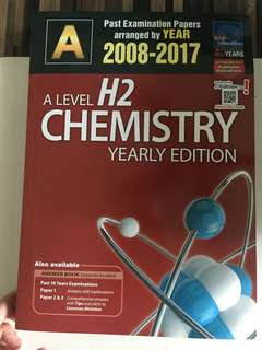 JC A'level Chemistry TYS (2008-2017)