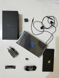 Samsung galaxy S8 black nominus fullset